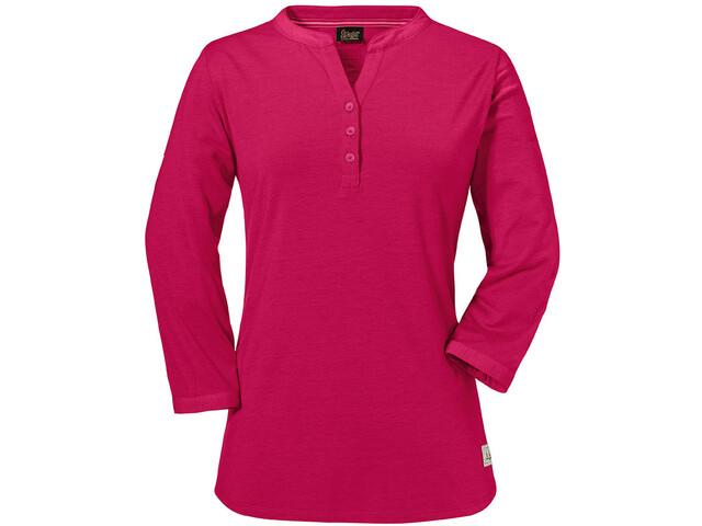 Schöffel Johannesburg Langærmet T-shirt Damer, cerise